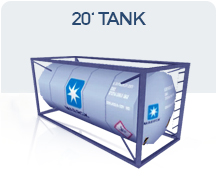 container 20 tank